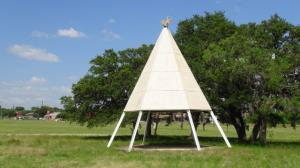 Cub Country Teepee #8 (White Top)