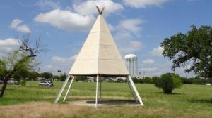 Cub Country Teepee #7 (Purple Top)