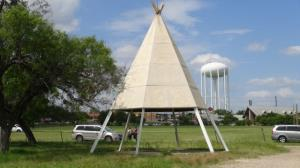 Cub Country Teepee #6 (Orange Top)