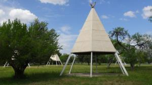 Cub Country Teepee #3 (Red Top)