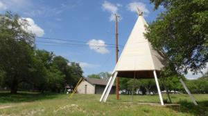 Cub Country Teepee #1 (Green Top)
