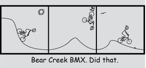 """2015 """"BMX"""" T-Shirt"""