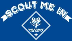 "Cub ""Scout Me In"" T-shirt"