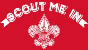 """Scouts BSA """"Scout Me In"""" T-shirt"""