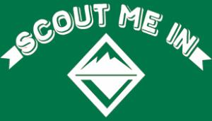 """Venturing """"Scout Me In"""" T-shirt"""